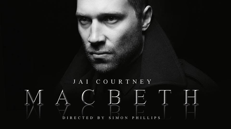 Poster for Macbeth featuring Jai Courtney, as seen around Melbourne