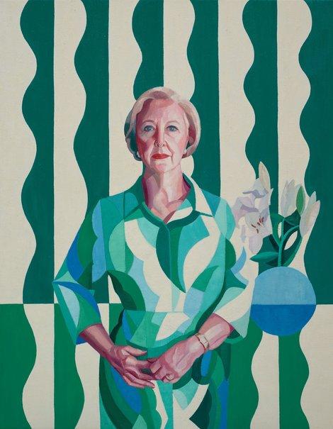 Professor Gillian Triggs, Yvette Coppersmith, Archibald Prize 2017 ( https://www.artgallery.nsw.gov.au/prizes/archibald/2017/29828/ )