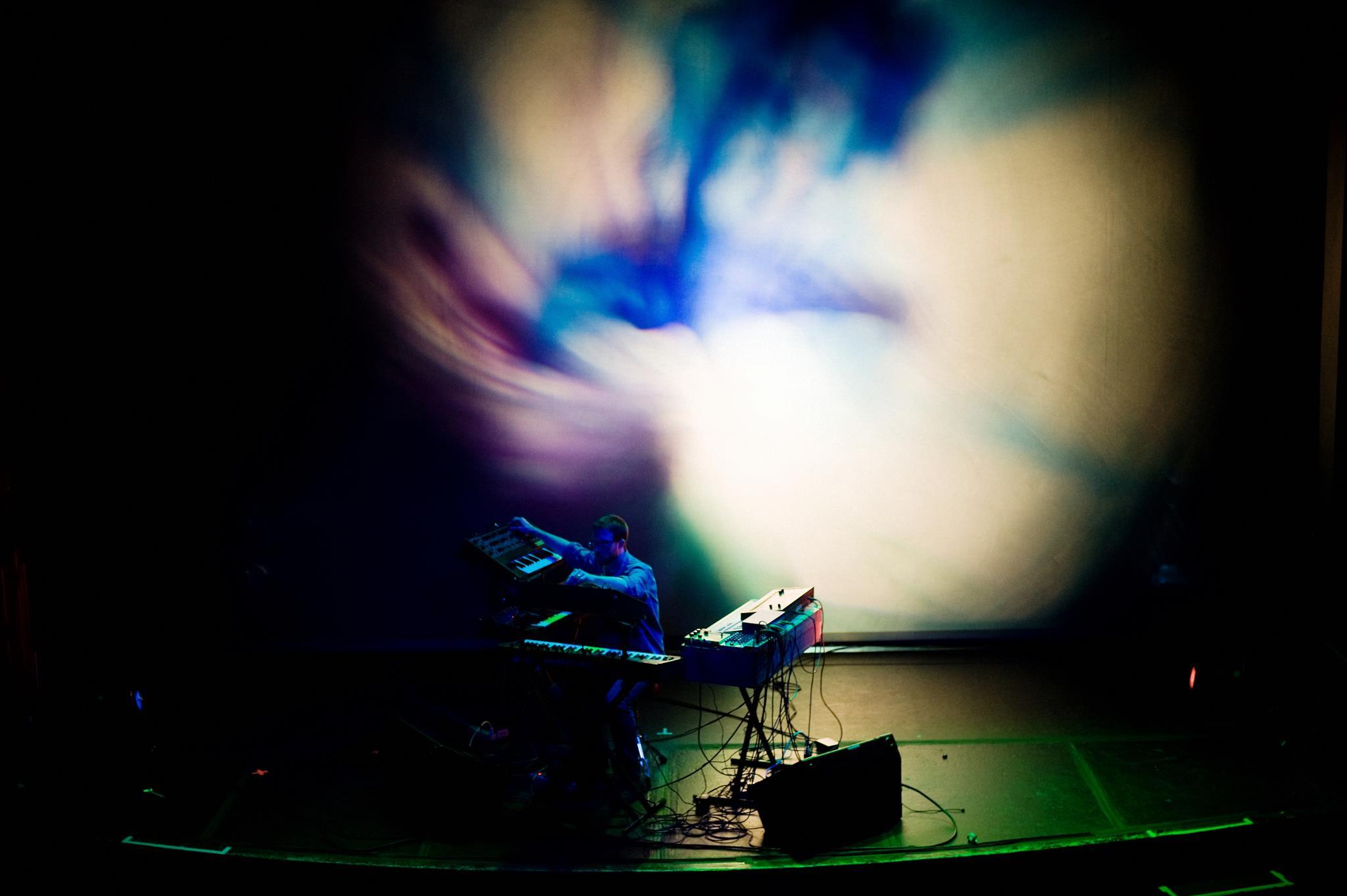 Abrons Arts Center NY, NY  w/Joshua Light Show  5 December 2010  Photo by Shawn Brackbill
