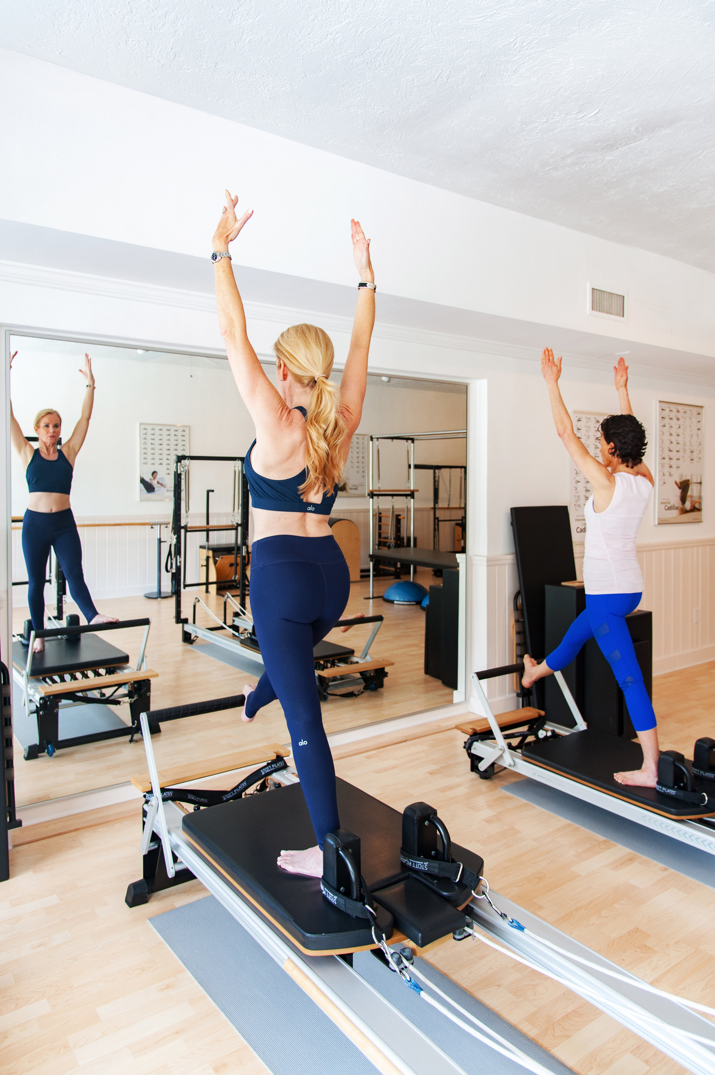 Duet (2 Person) Pilates with Nina Desloge-Day.