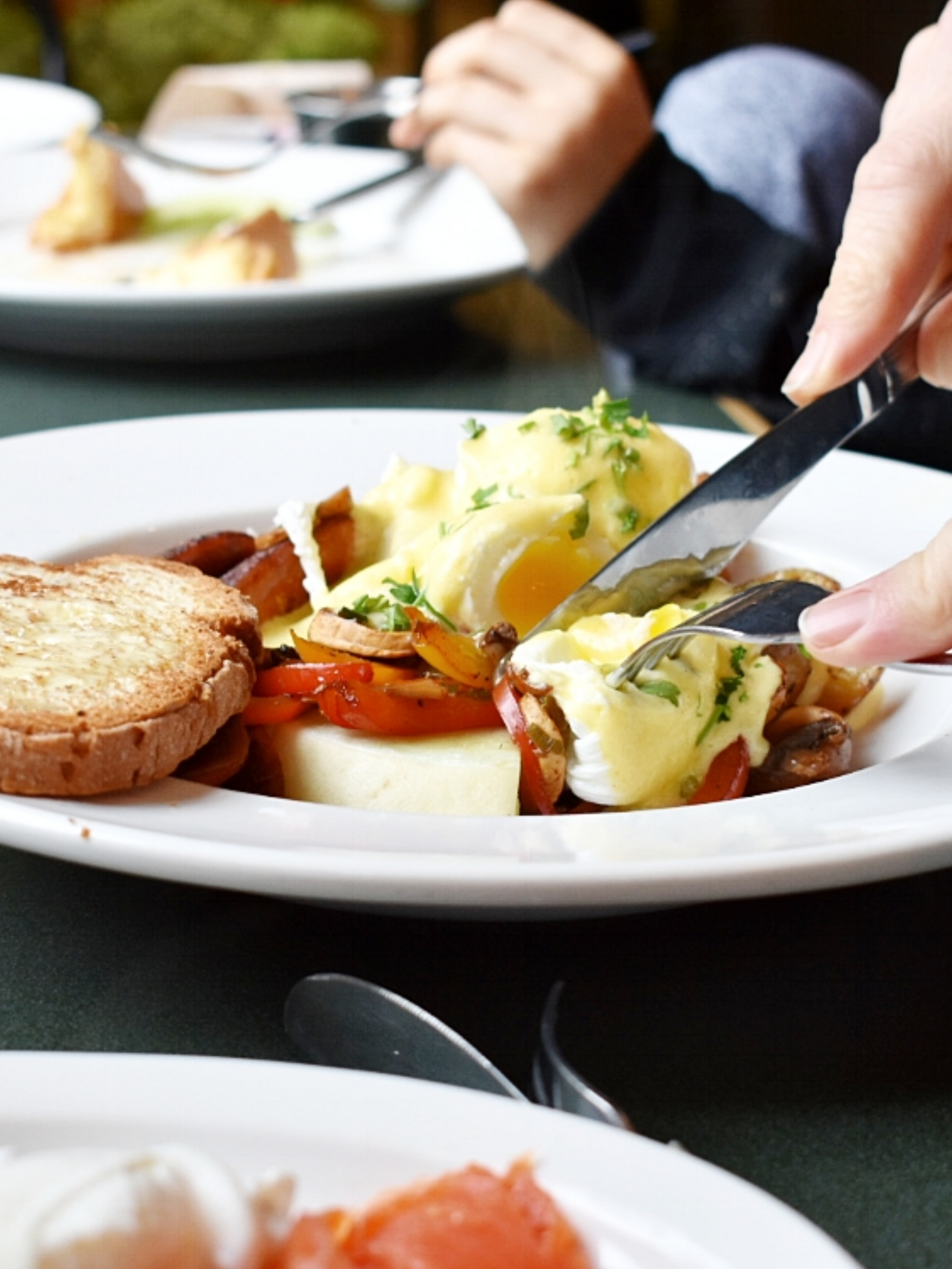 A hearty breakfast at Alpine Cafe is the perfect start to any day.