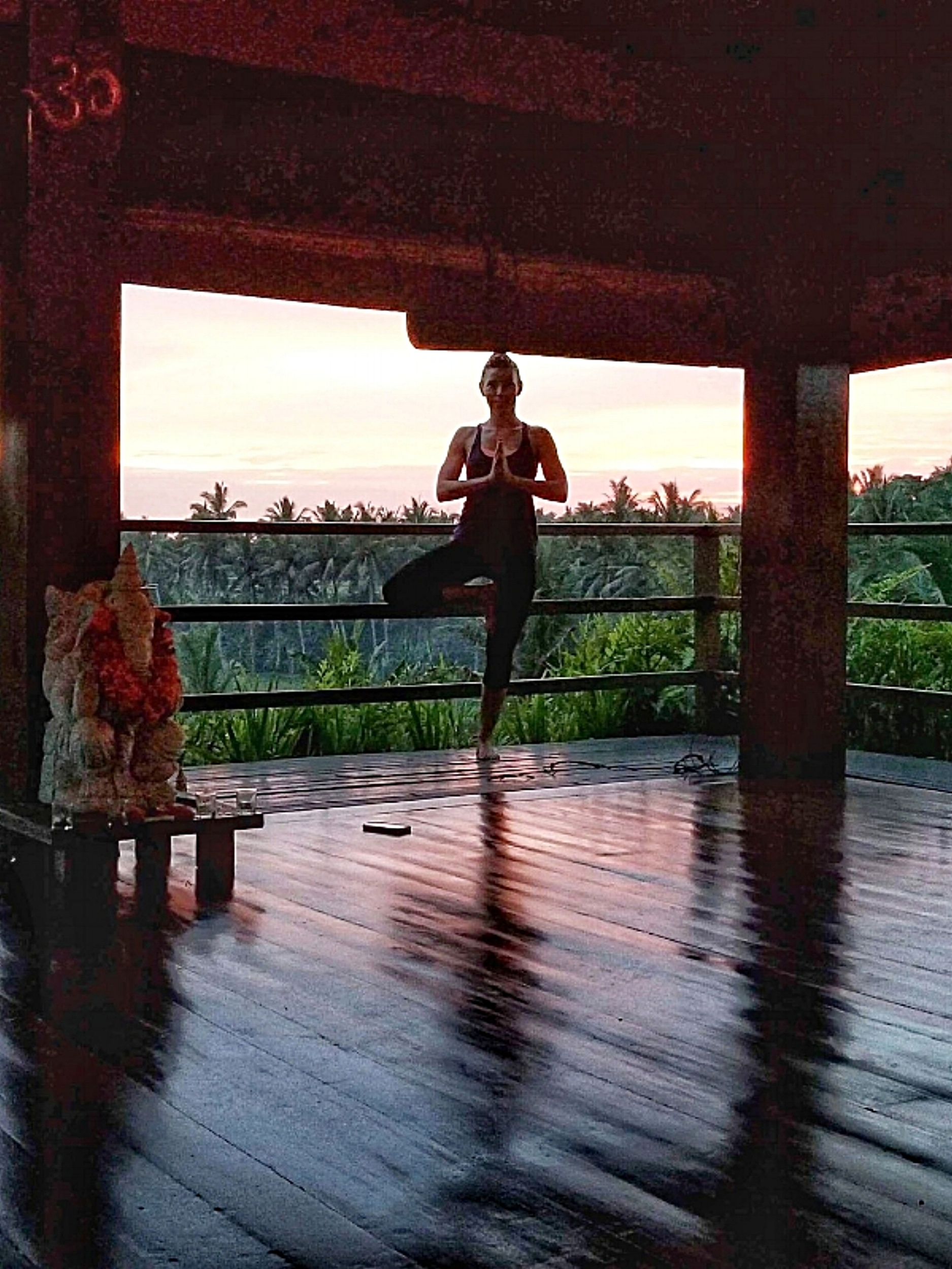 Sunset yoga at Soulshine Hotel + Yoga Retreat