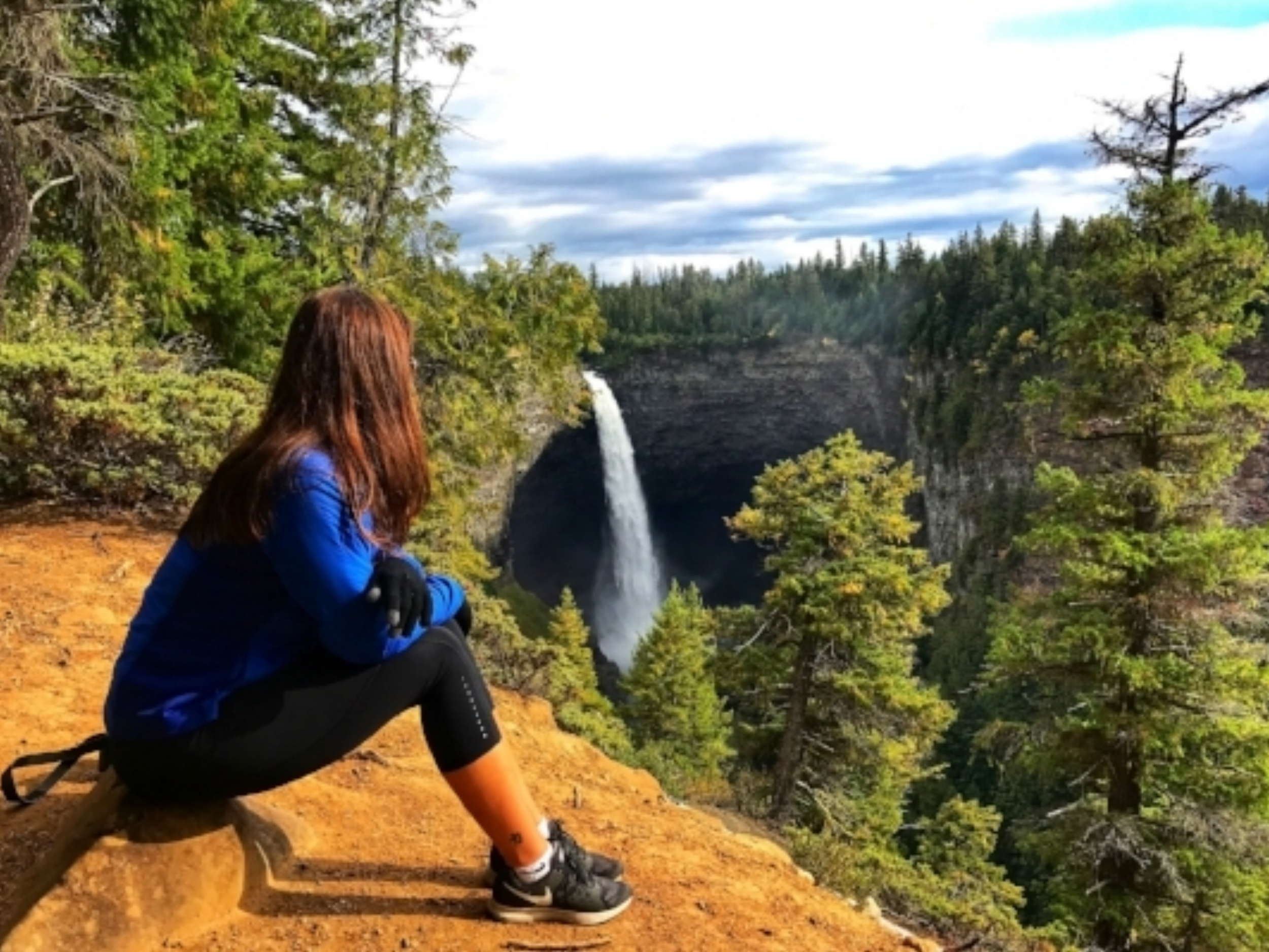 Overlooking Helmcken Falls