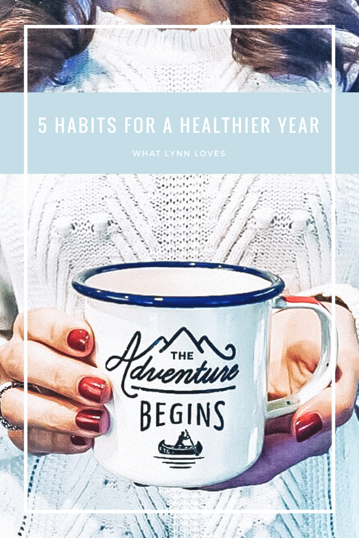 Ideas for healthy habits new years resolution