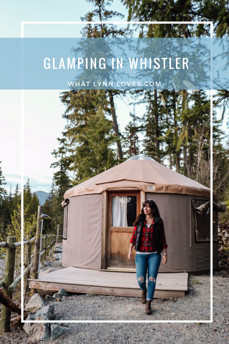 Unique Yurt Glamping in Whistler Canada