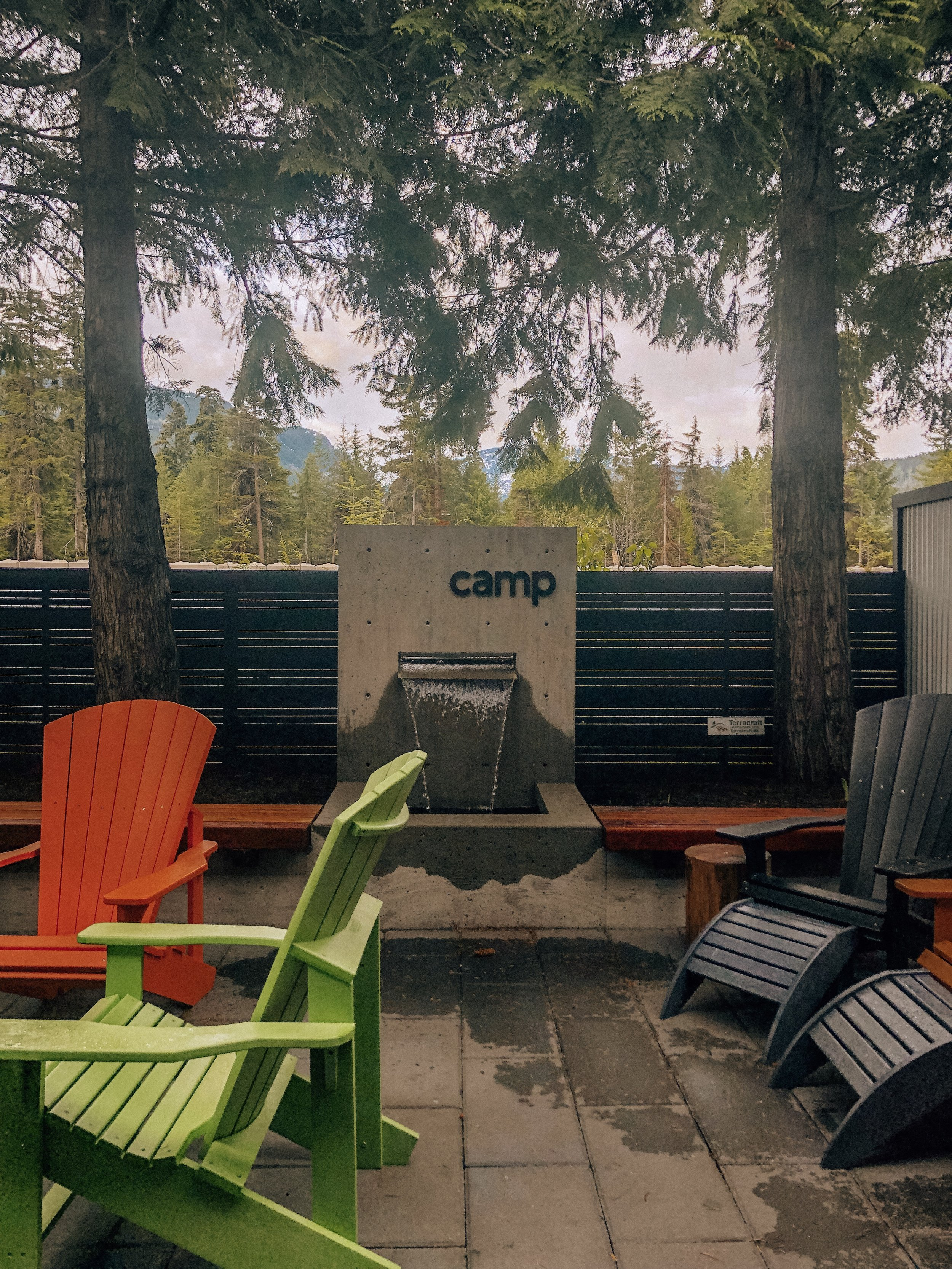 Camp Lifestyle hipster coffee shop cafe in Whistler BC Canada
