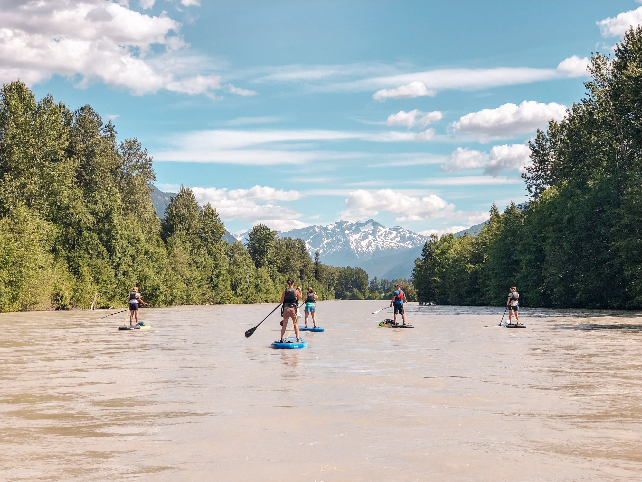 Unique group activities in Whistler summer