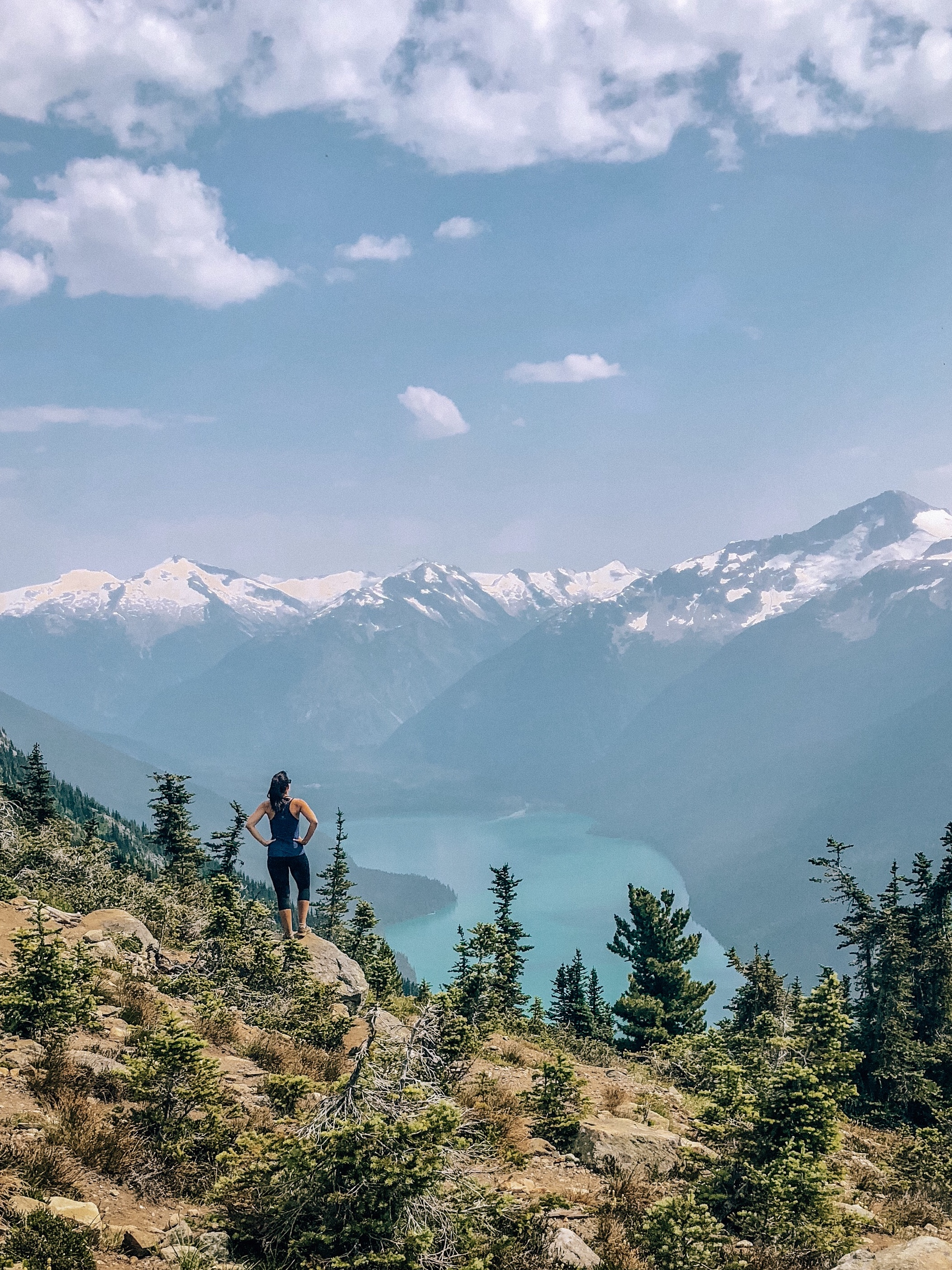 Whistler Blackcomb High Note Trail mountain hike with views