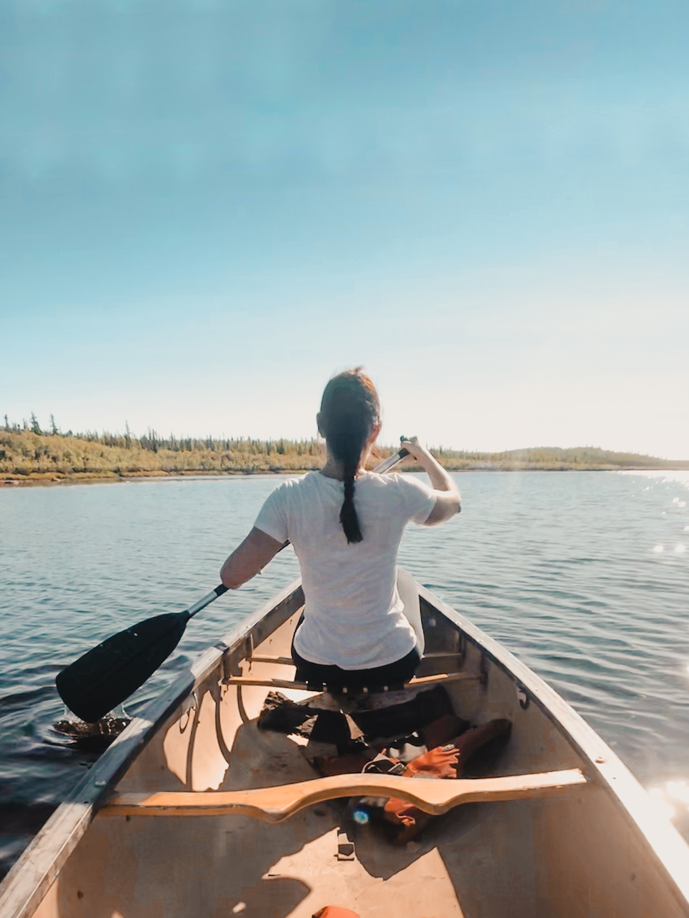 Canoeing in Northwest Territories Canada