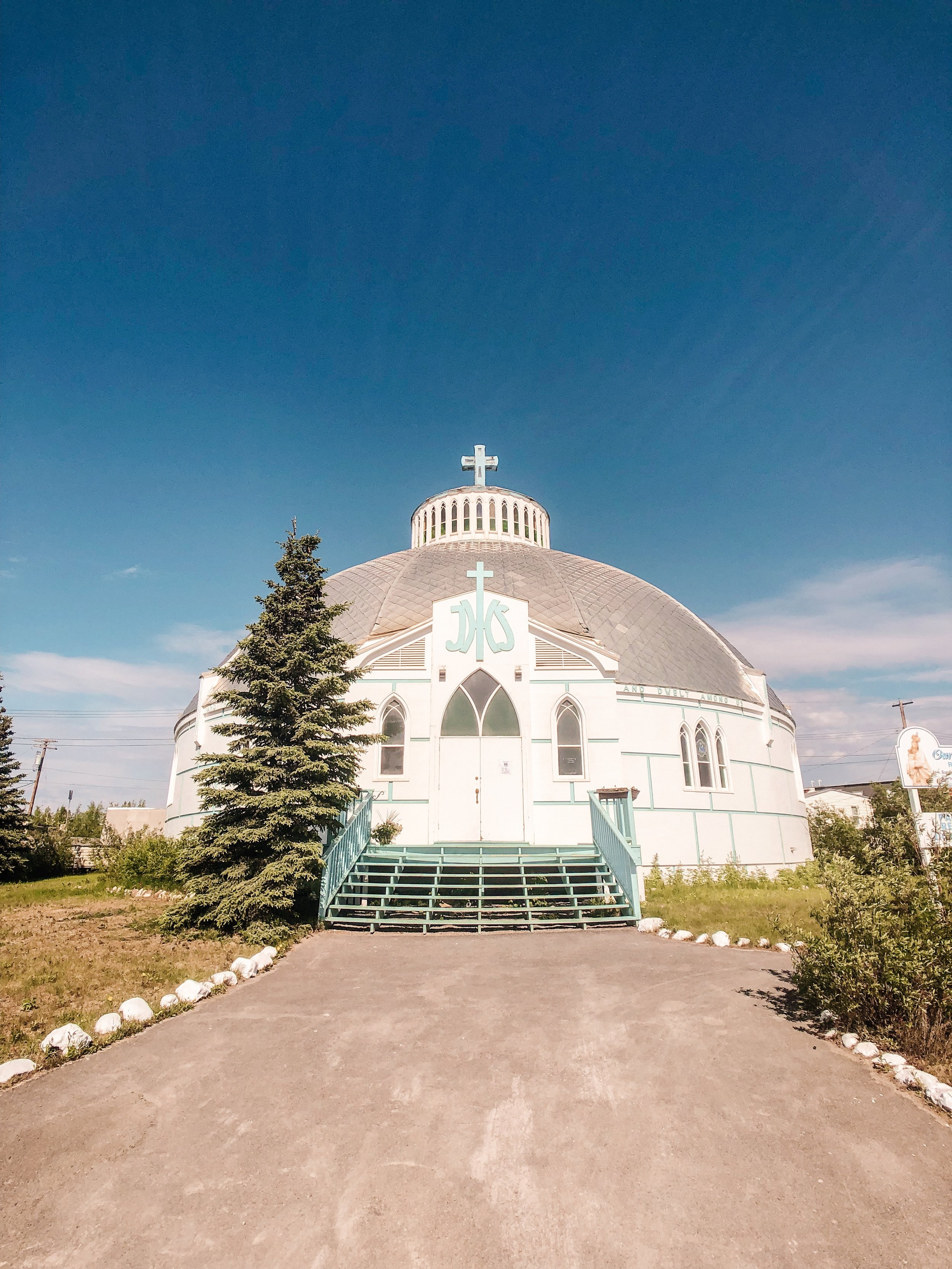 Igloo Church Inuvik Northwest Territories