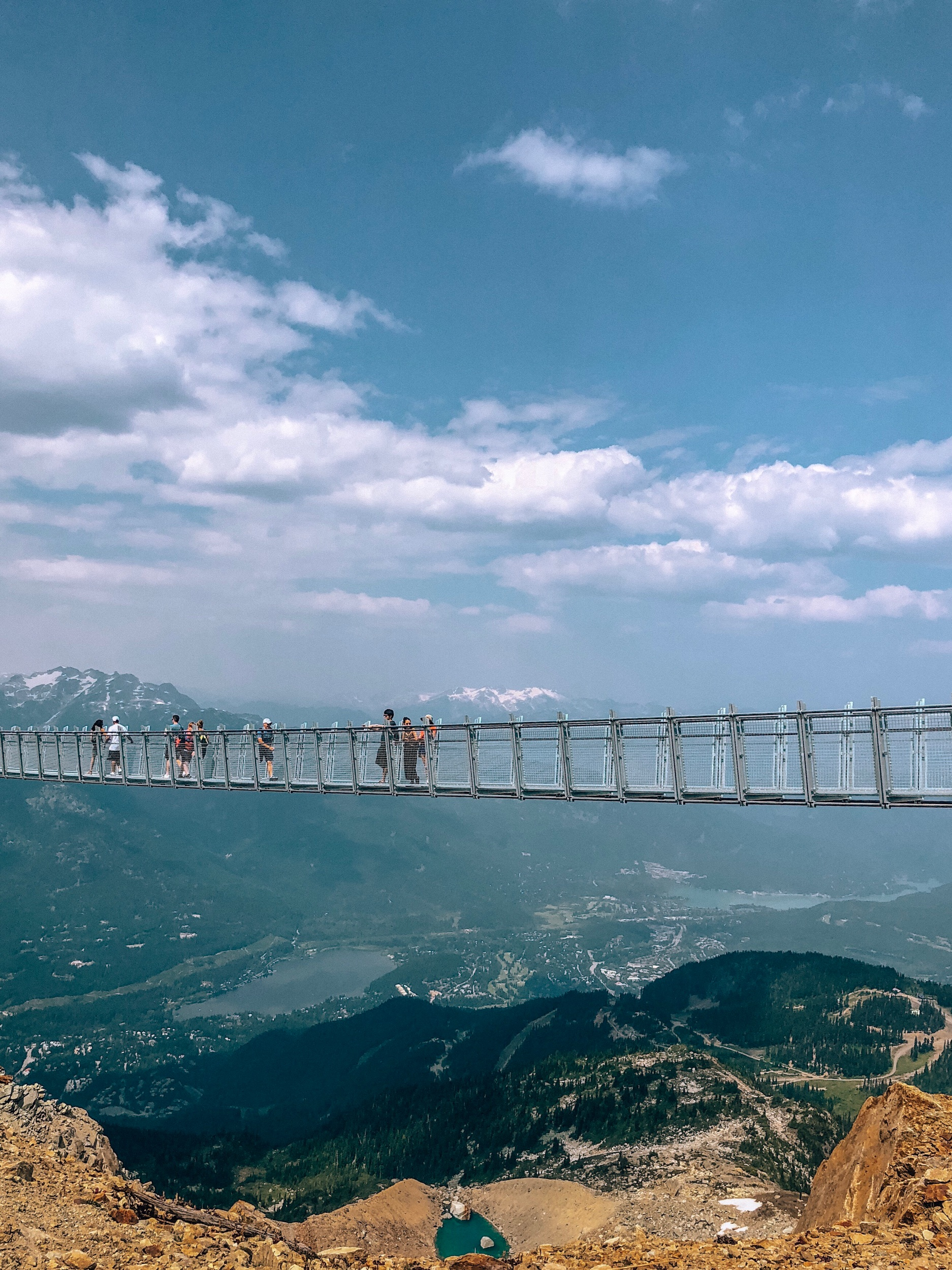 Whistler Blackcomb suspension bridge