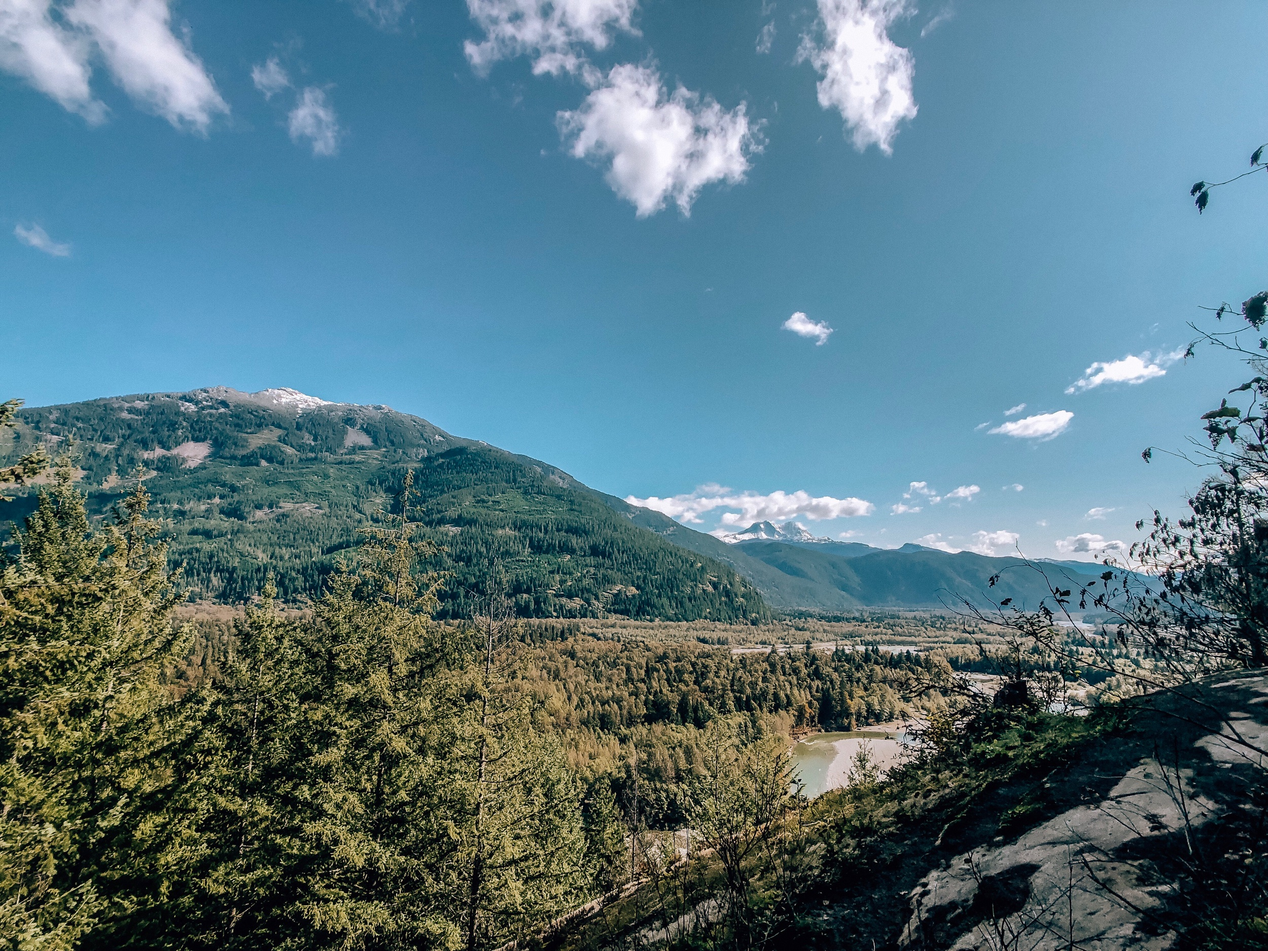 Crooked Falls Hike in Squamish BC Canada