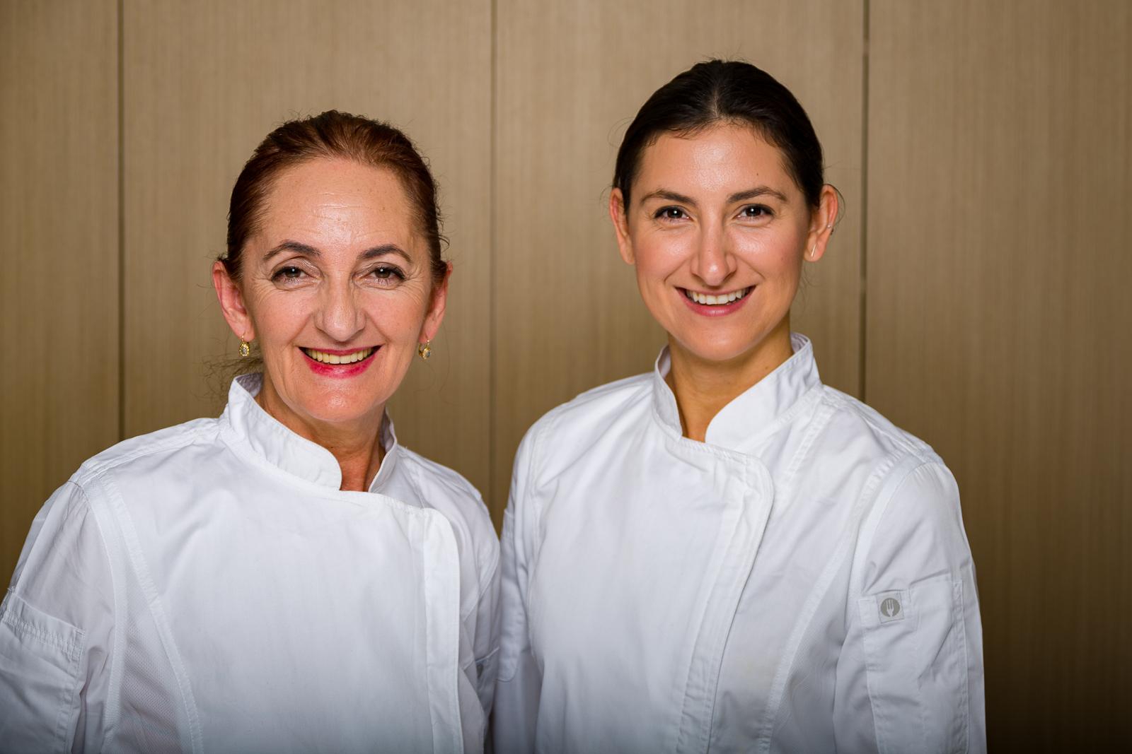 Alida Malushi (left) , Ariana Malushi (right)