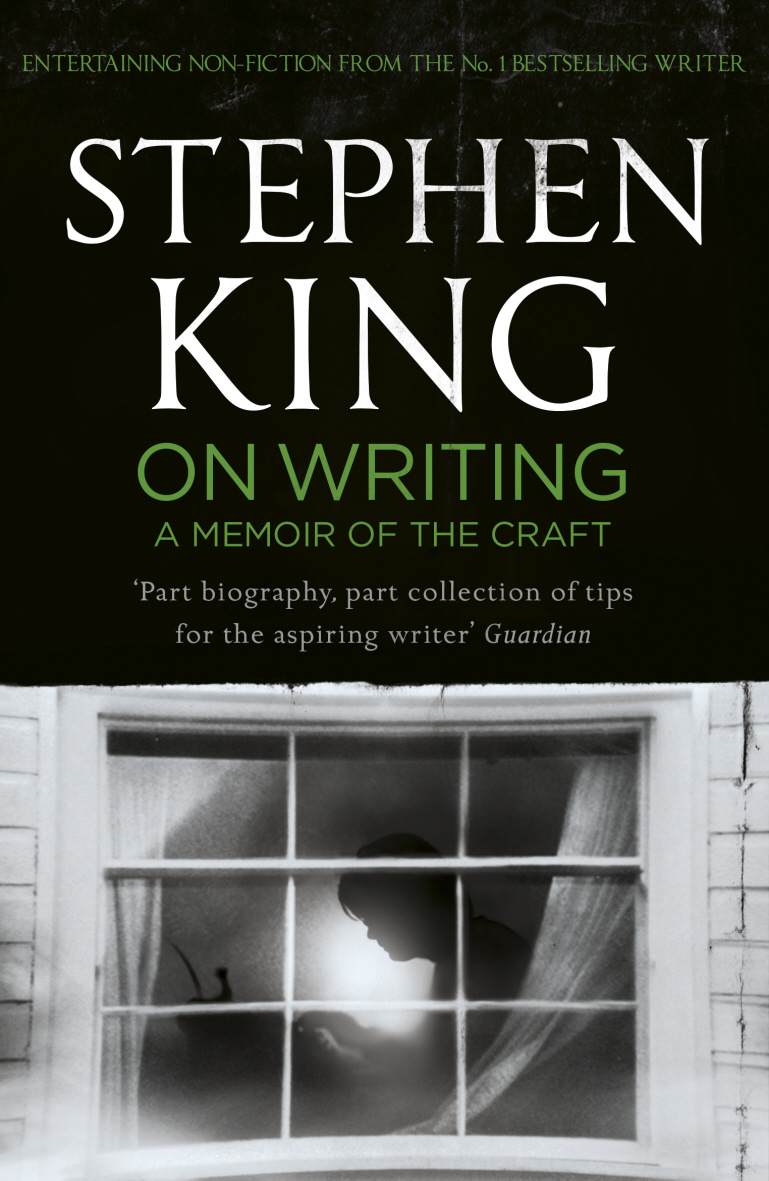 """Serialized in the New Yorker to vivid acclaim, On Writing culminates with a profoundly moving account of how King's overwhelming need to write spurred him toward recovery, and brought him back to his life. Brilliantly structured, friendly and inspiring, On Writing will empower, and entertain everyone who reads it. """"If you don't have the time to read, you don't have the time or the tools to write."""""""