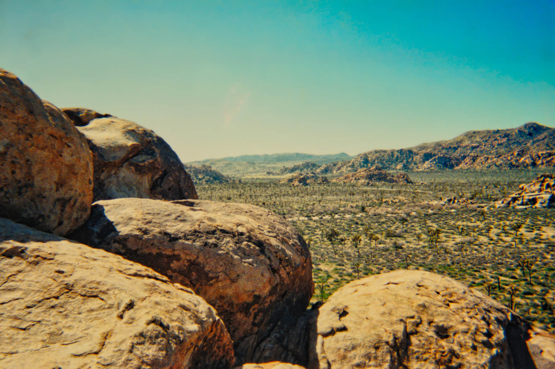 Joshua Tree - This is the view from the top of the rock stack. Unforgetable.
