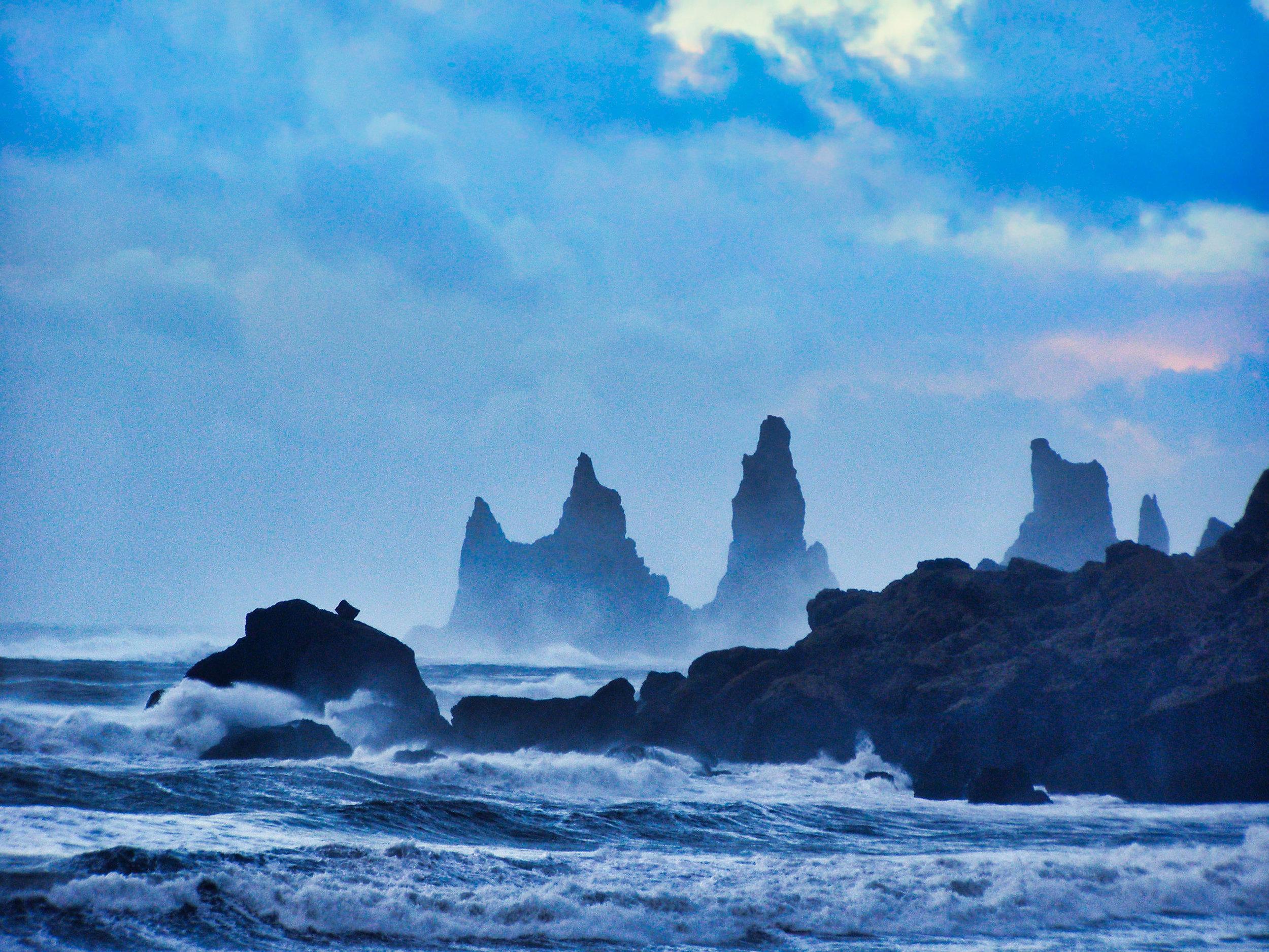 The Sisters, Reynisdrangar - Iceland | 2006