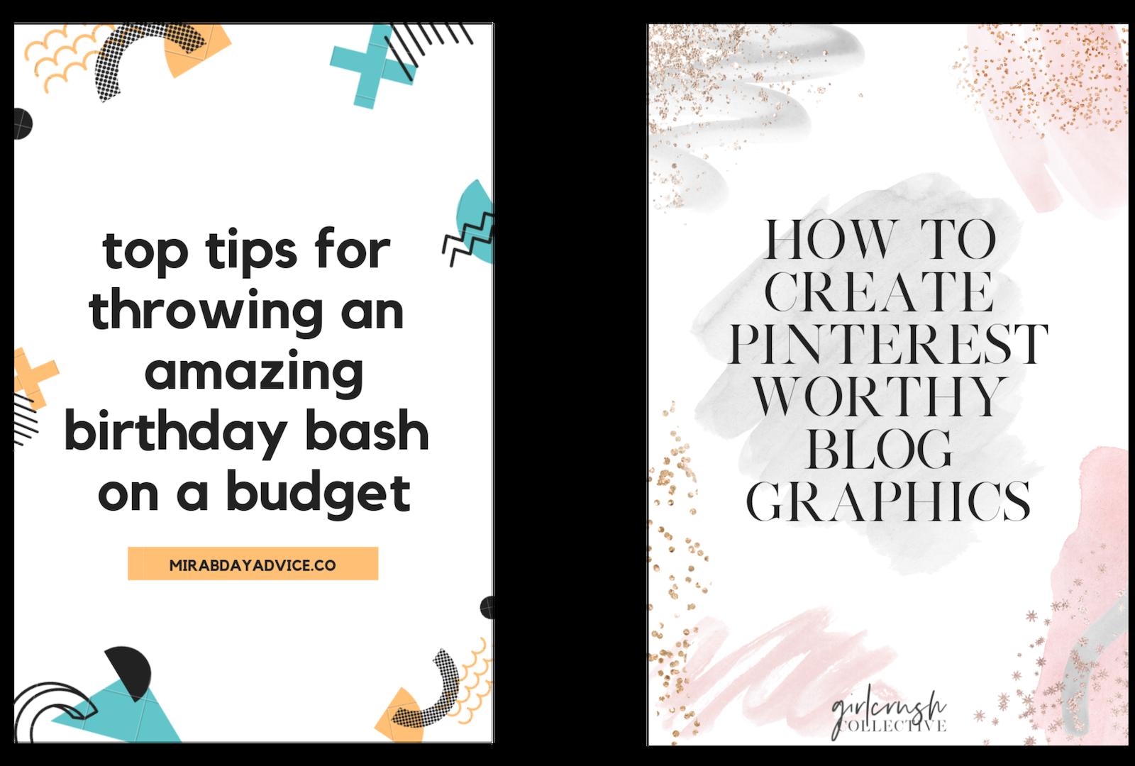 canva tutorial for pinterest blog graphics