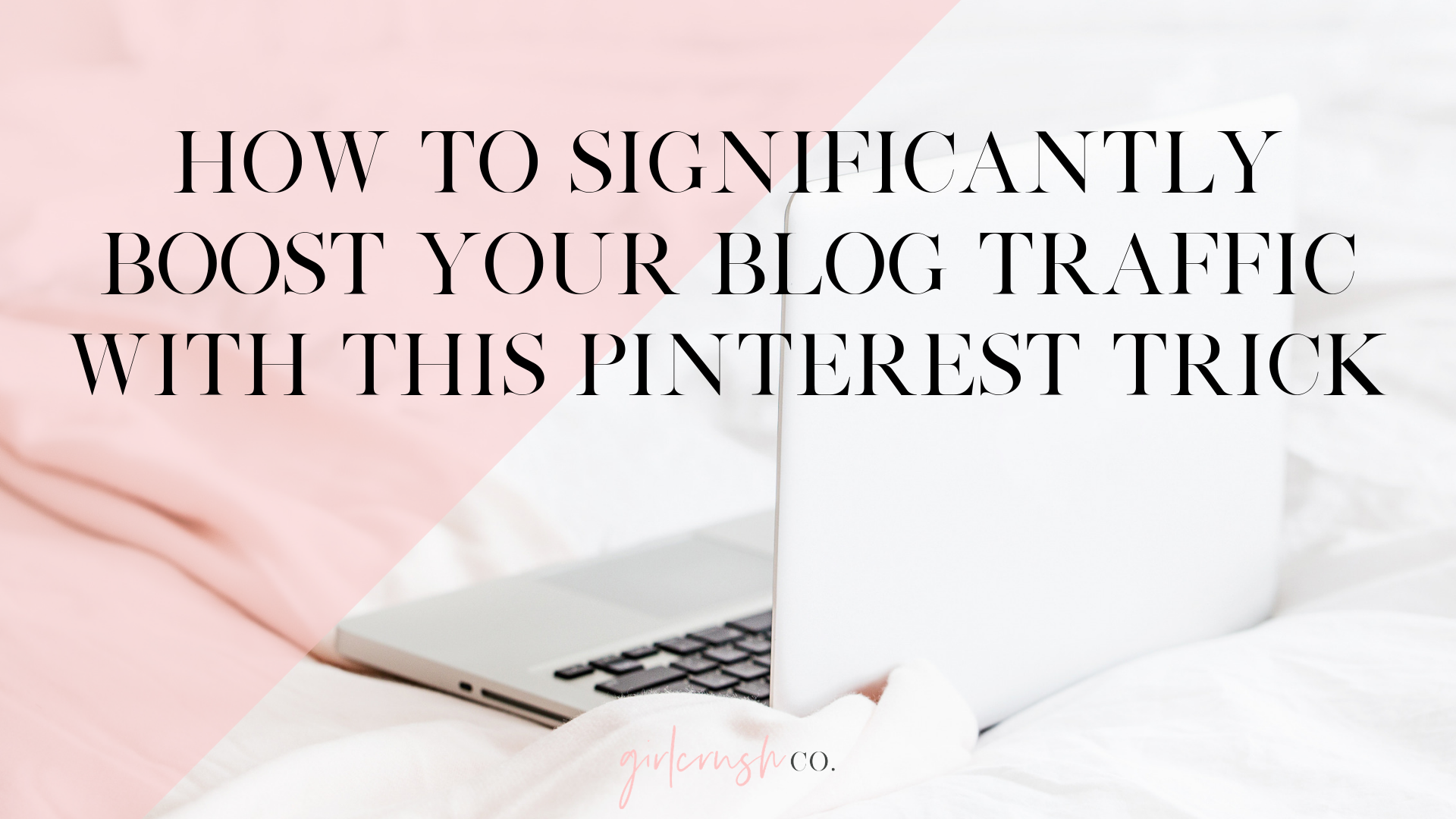 boost your blog traffic with pinterest