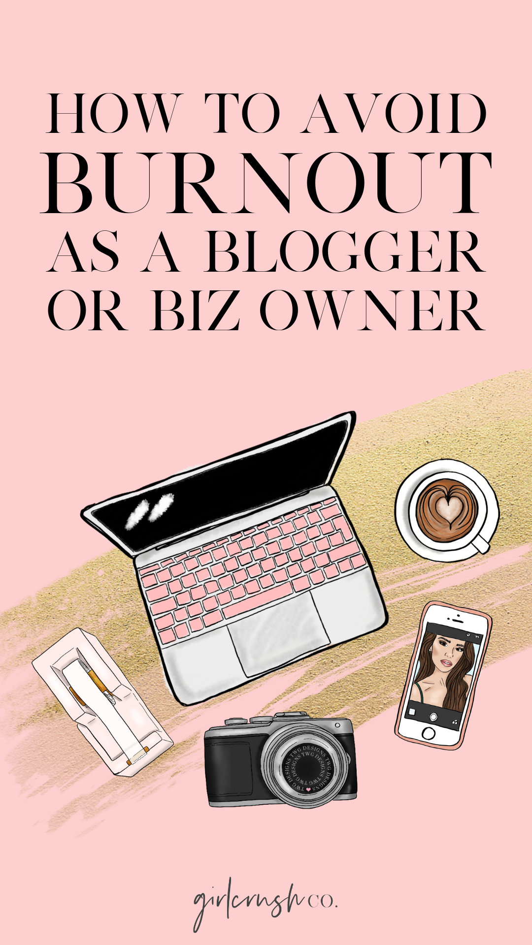 avoid burnout as a blogger or business owner