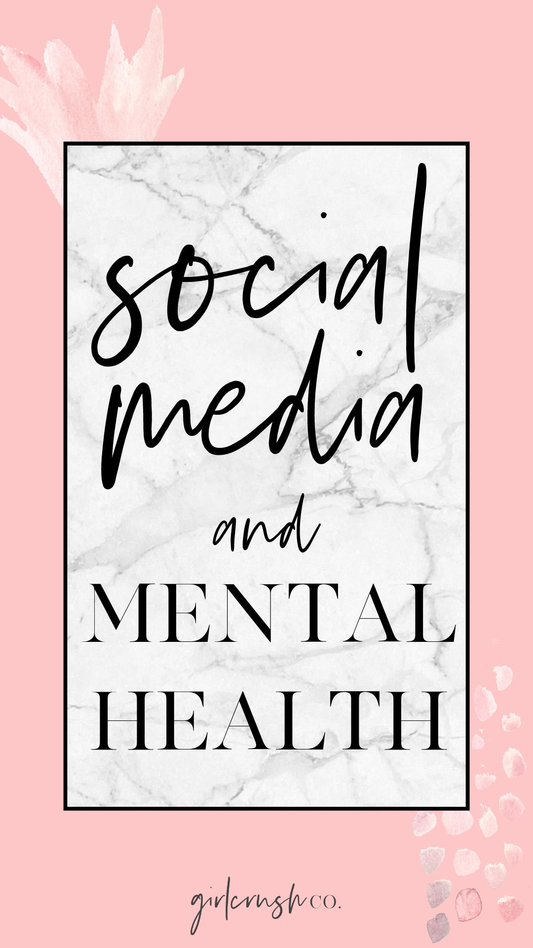 social media and mental heath