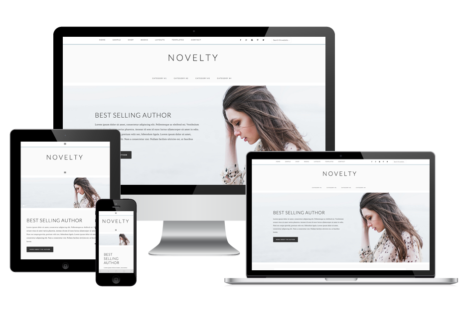 novelty wordpress theme for lifestyle bloggers