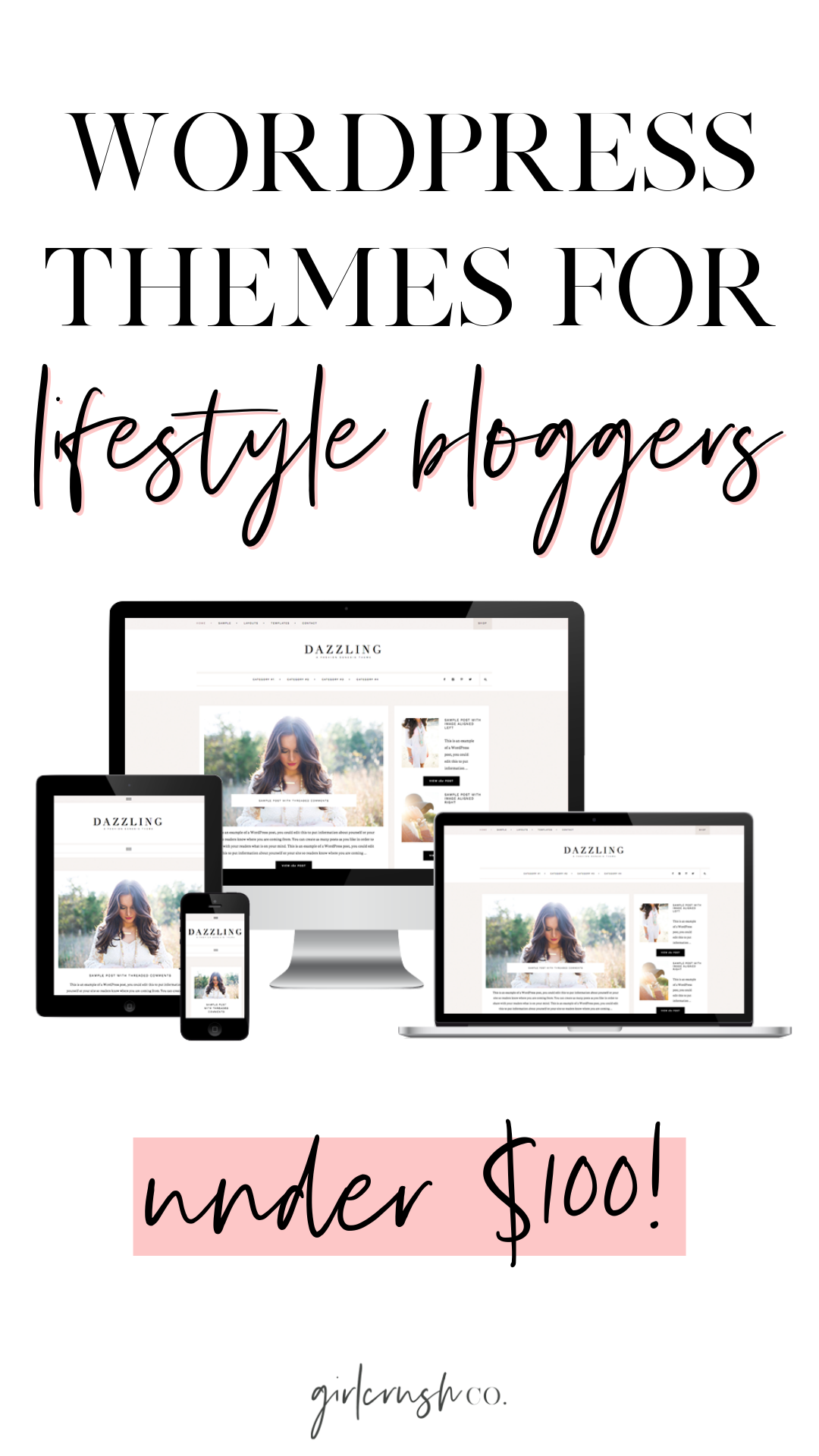 the best wordpress themes for lifestyle bloggers
