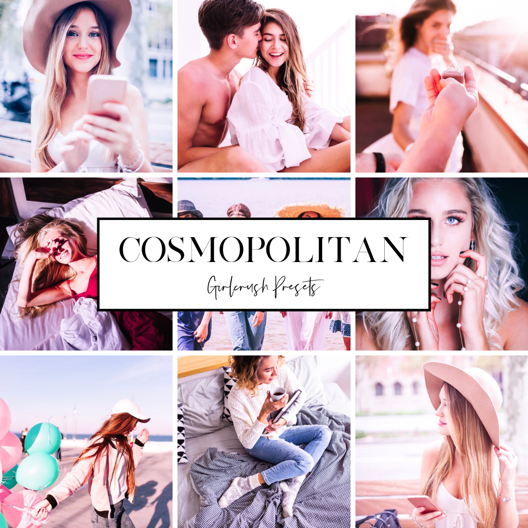cosmopolitan girlcrush preset instagram aesthetic