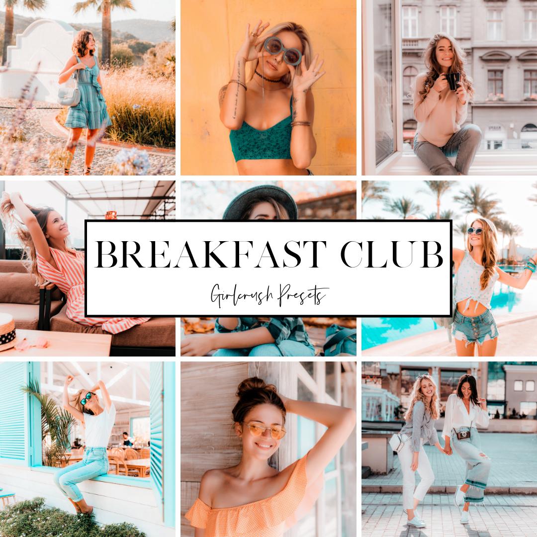 the breakfast club lightroom presets
