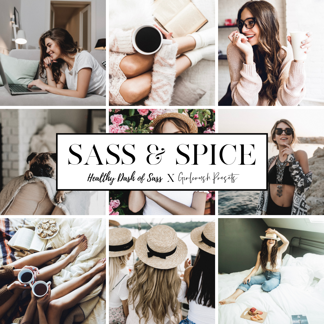 sass and spice  lightroom preset