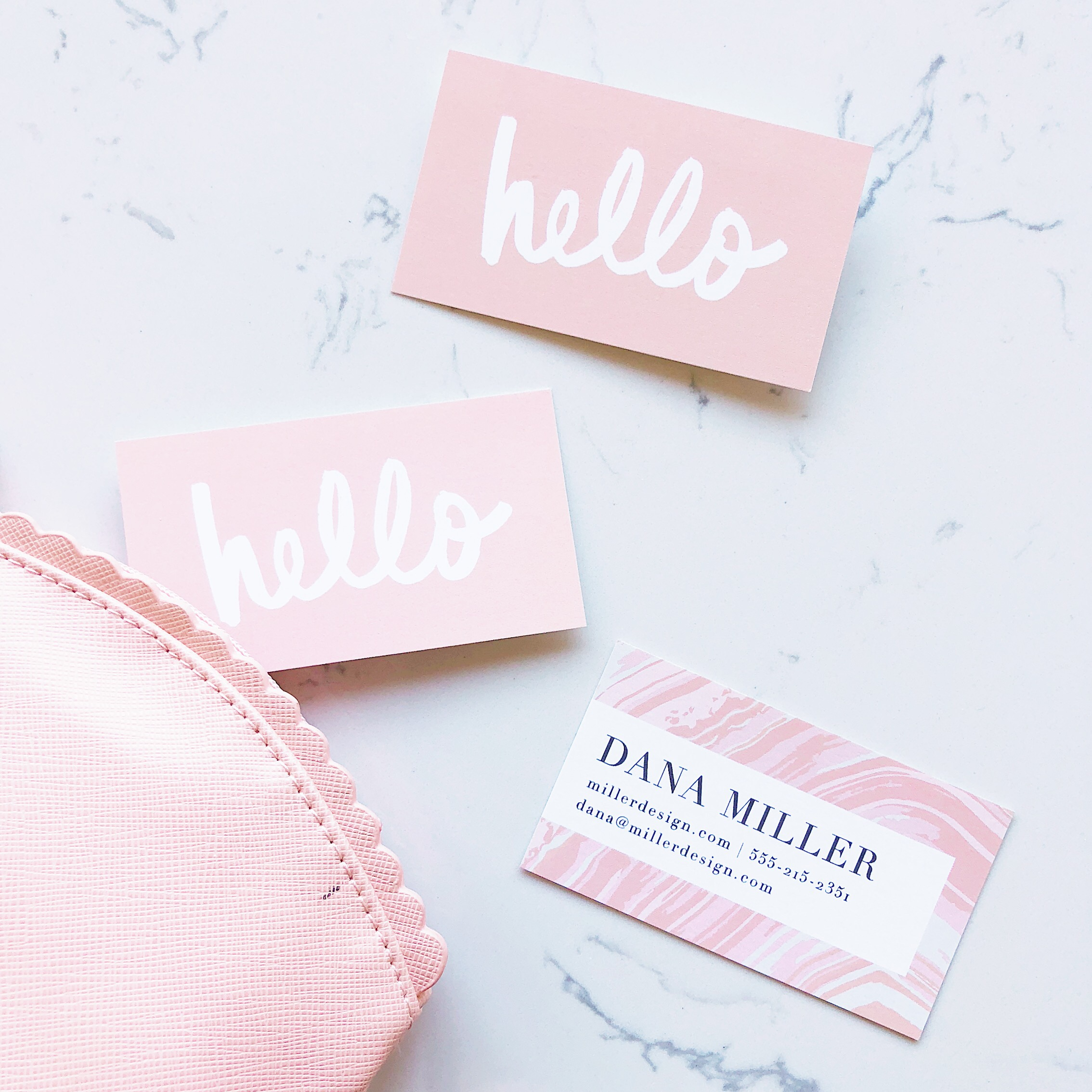 basic invite business cards
