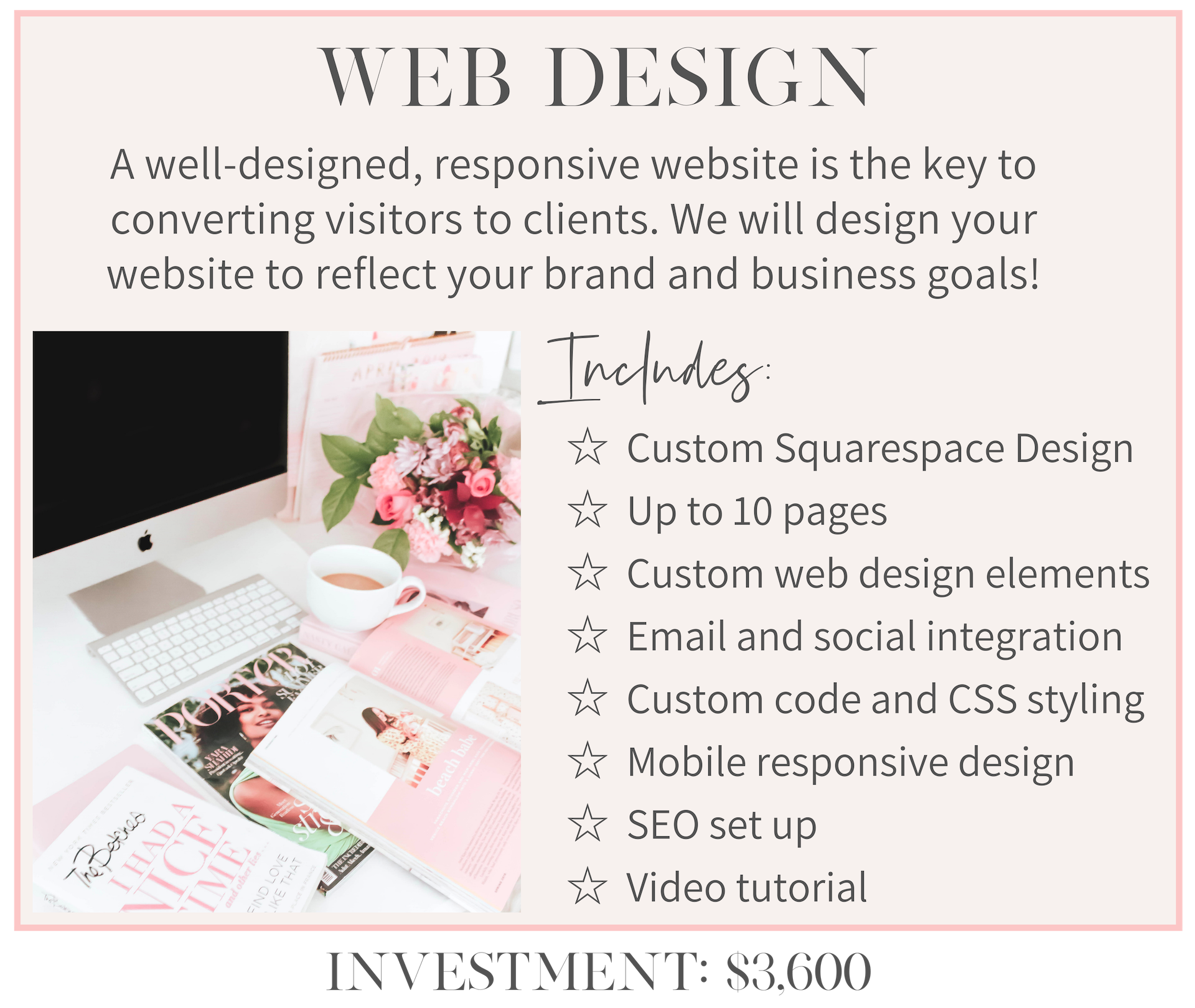 katie mander girlcrush collective website design service