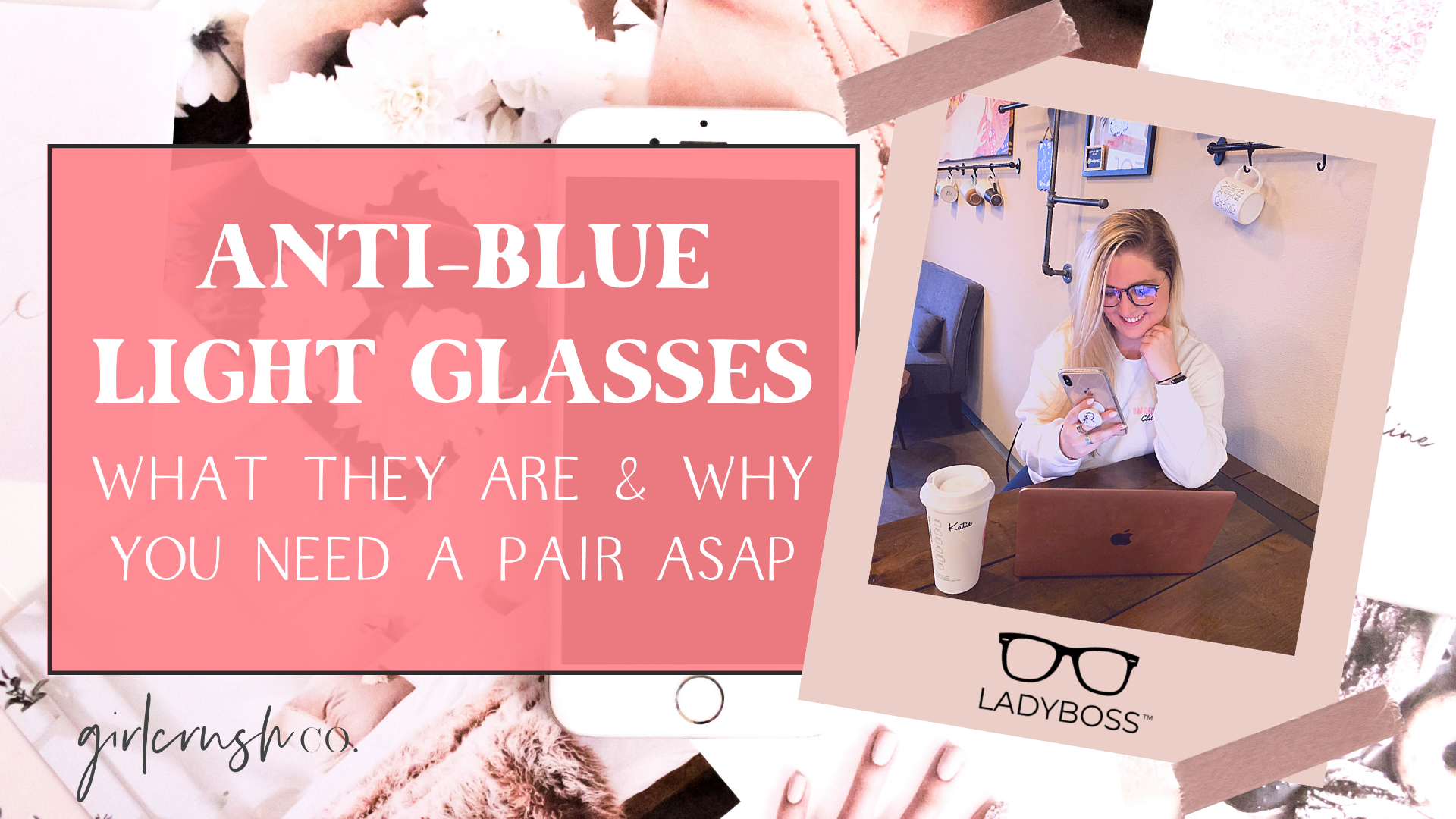 anti-blue light glasses ladyboss glasses