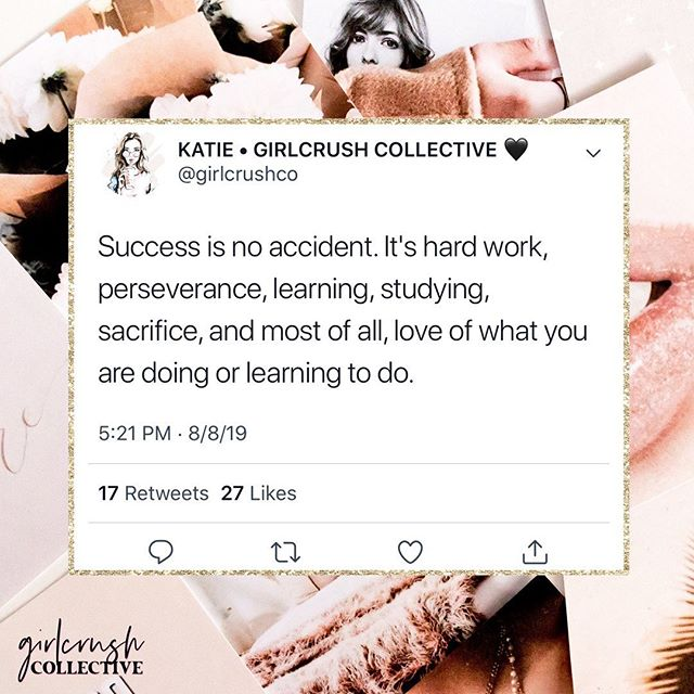 There's no such thing as an overnight success. Success is the result of long nights, early mornings, emotional breakdowns, many sacrifices, dedication, and lots of hard work. ⠀⠀⠀⠀⠀⠀⠀⠀⠀ So next time you feel like you're working so hard while other people are becoming a success overnight, remember that they were once in your shoes. Keep going and remember that it will all pay off soon.