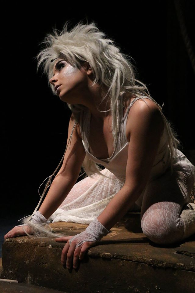 Ariel in  The Tempest