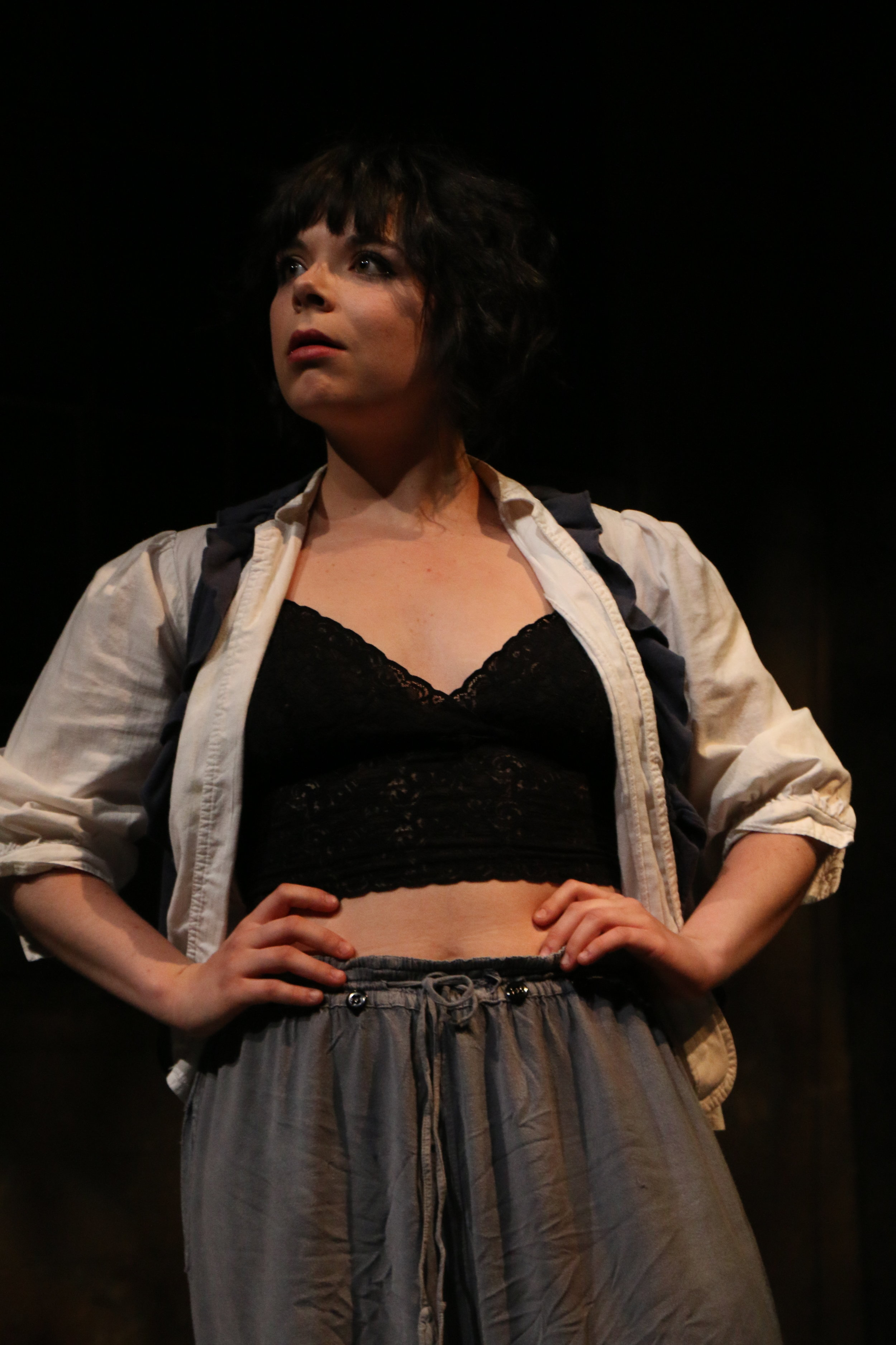 Gertrude in  12 Ophelias (a play with broken songs)