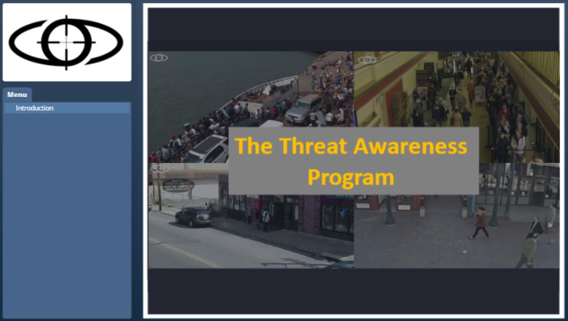 Watch a short video about our online Threat Awareness Program -