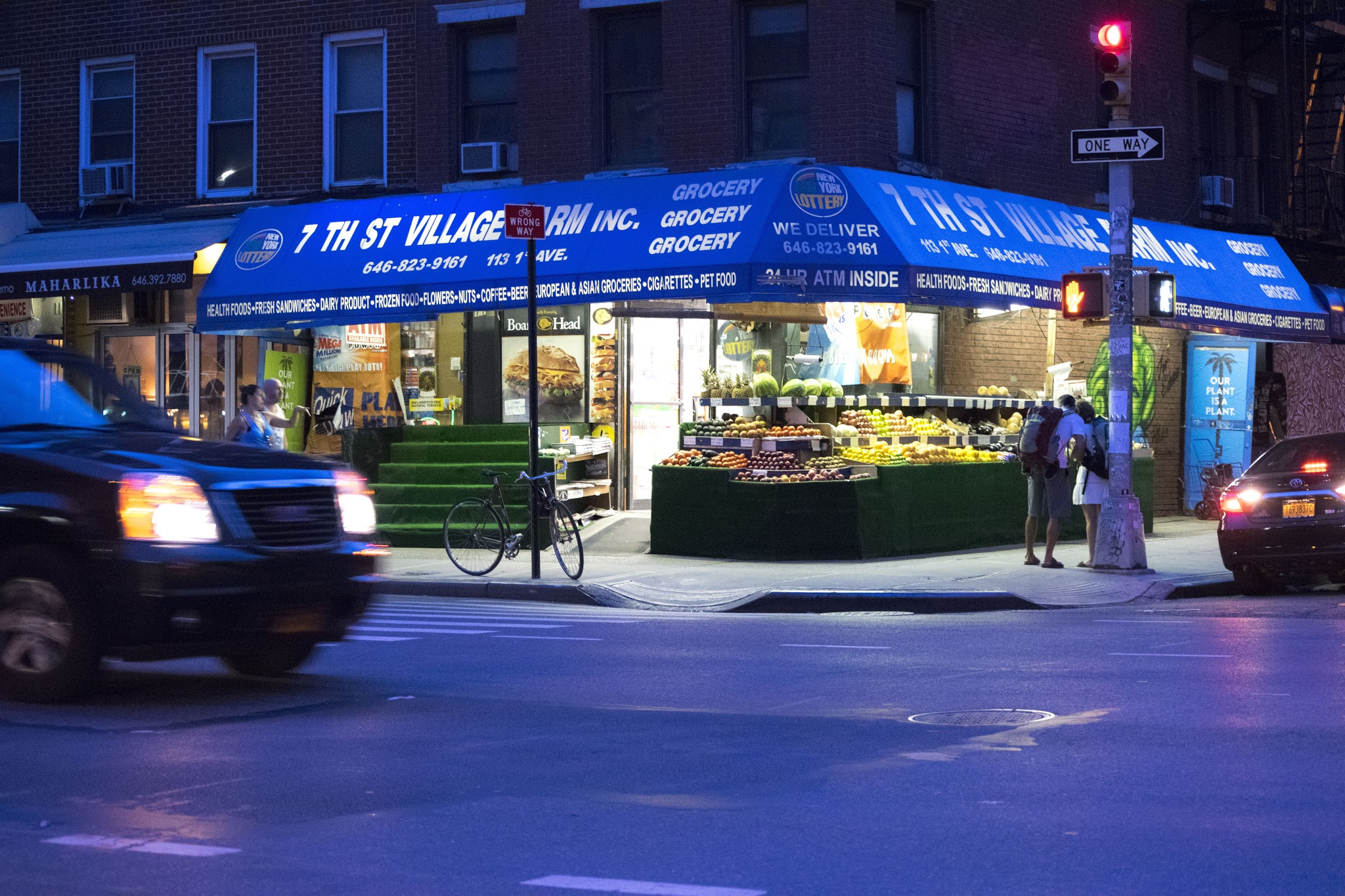 """Blue: Produce"" — Josh Park"