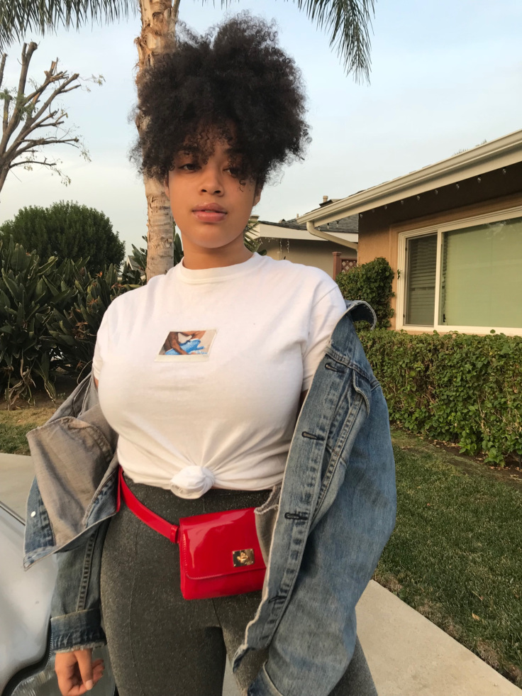Shirt: Kylie Jenner  Pants: H&M