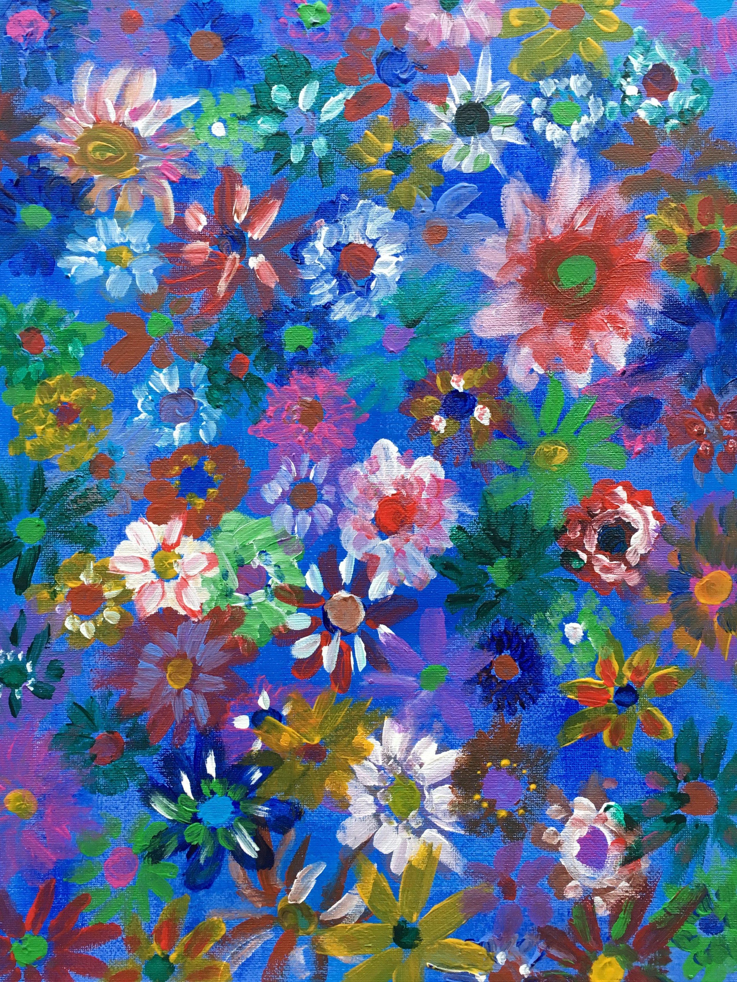 """""""Floral"""" — Kassidy Evans"""