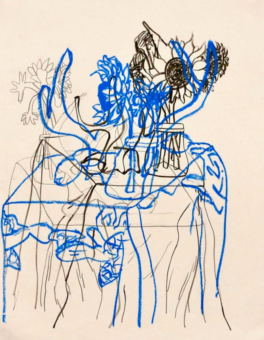 """""""Blue"""" — Becca Goldman"""