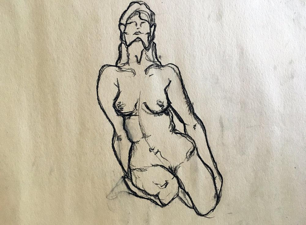 """Lady Sketch"""