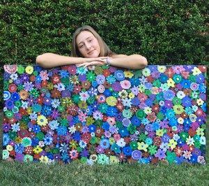 """""""Floral (Big)"""" - Kassidy Evans"""