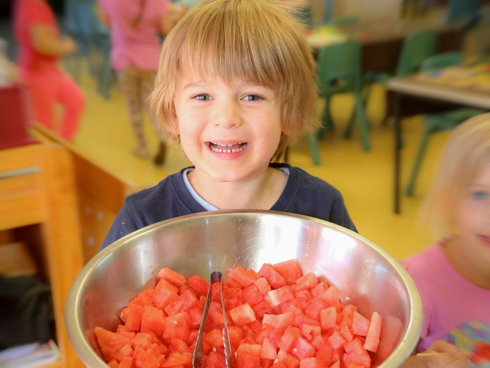 Childcare, child with watermelon.jpg