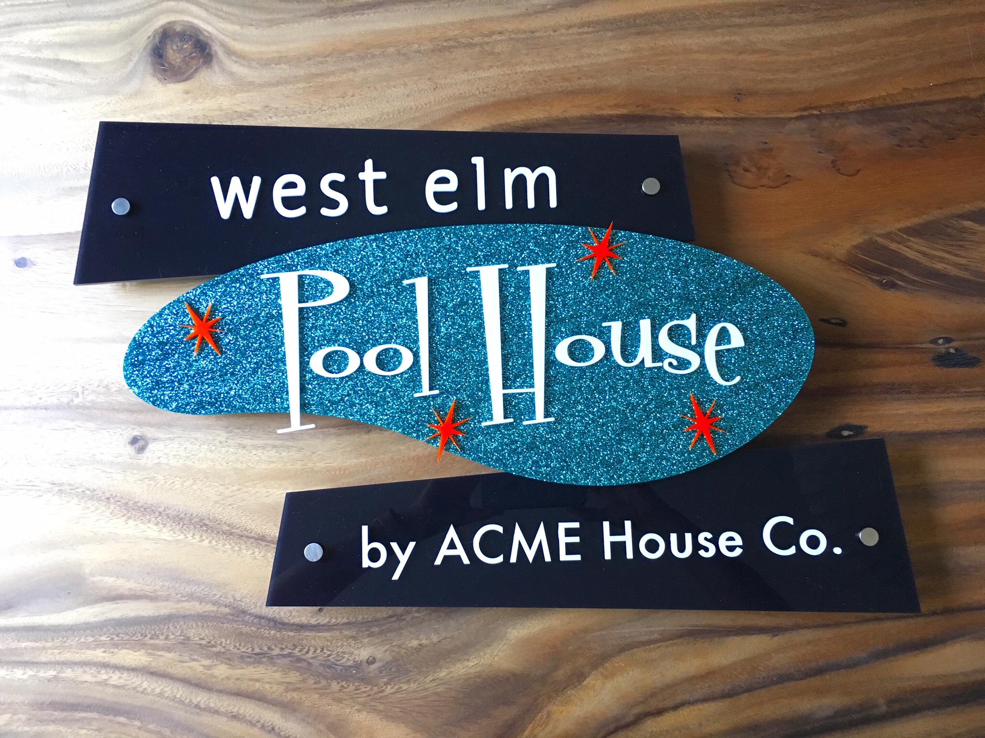 West Elm Pool House -