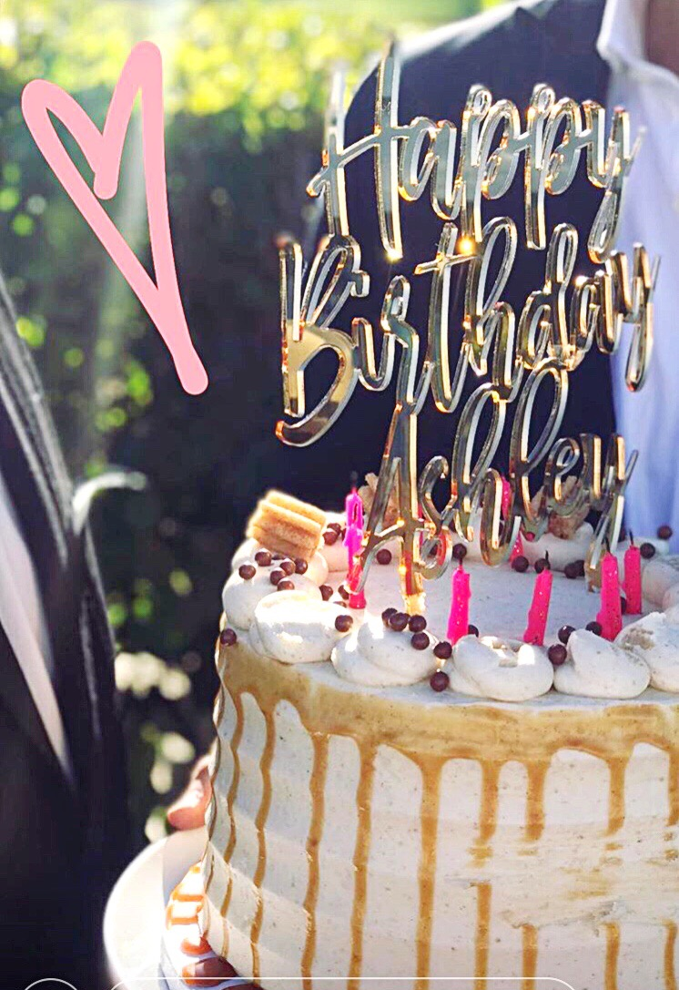 Birthday Cake Topper -