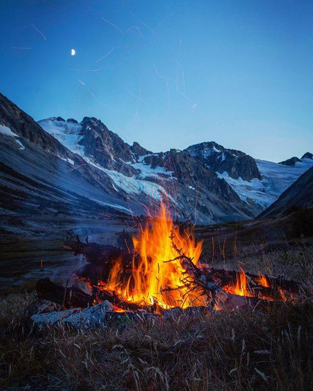 The last campfire of the season... #explorebc