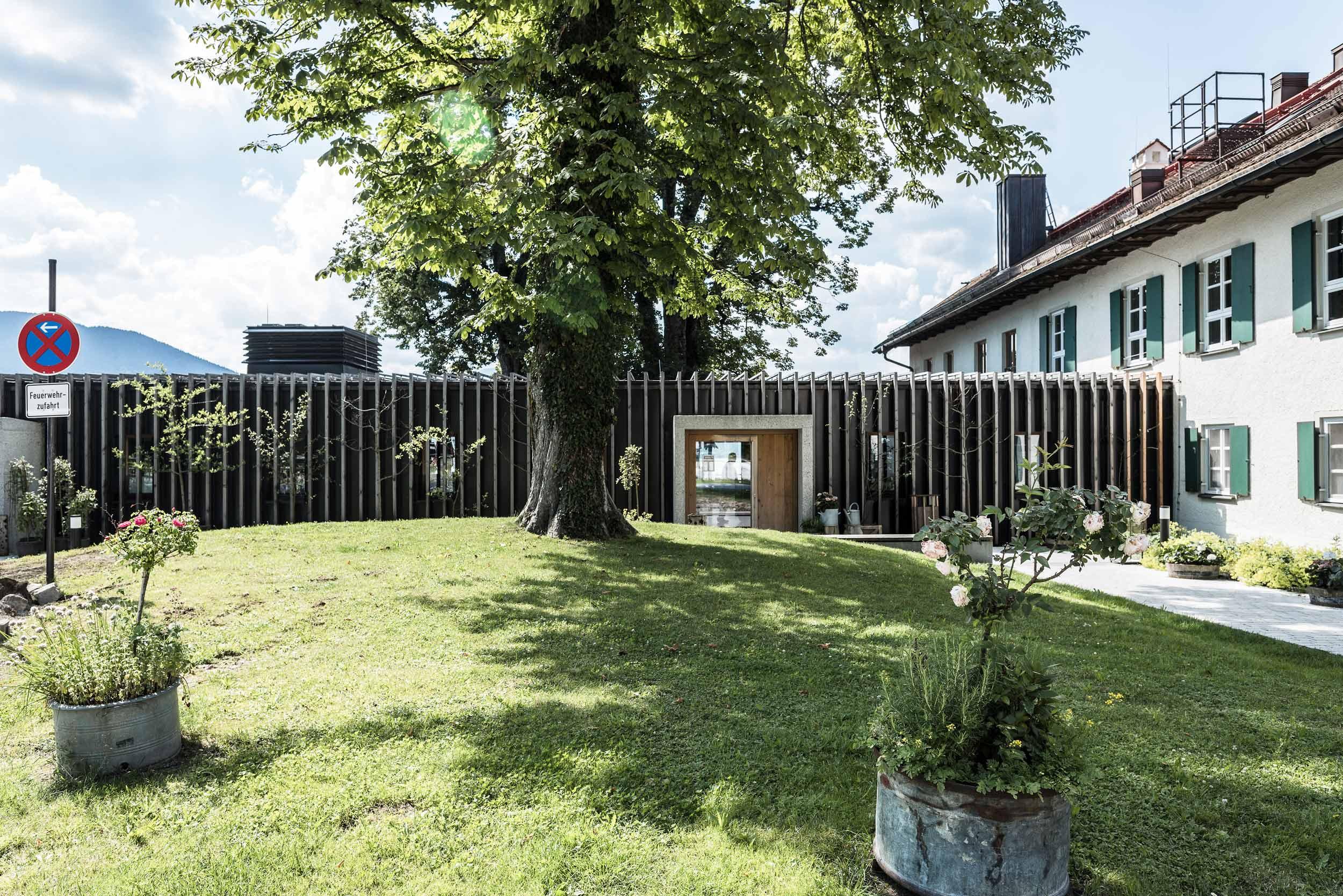Neubau des Restaurant Käfer am Gut Kaltenbrunn