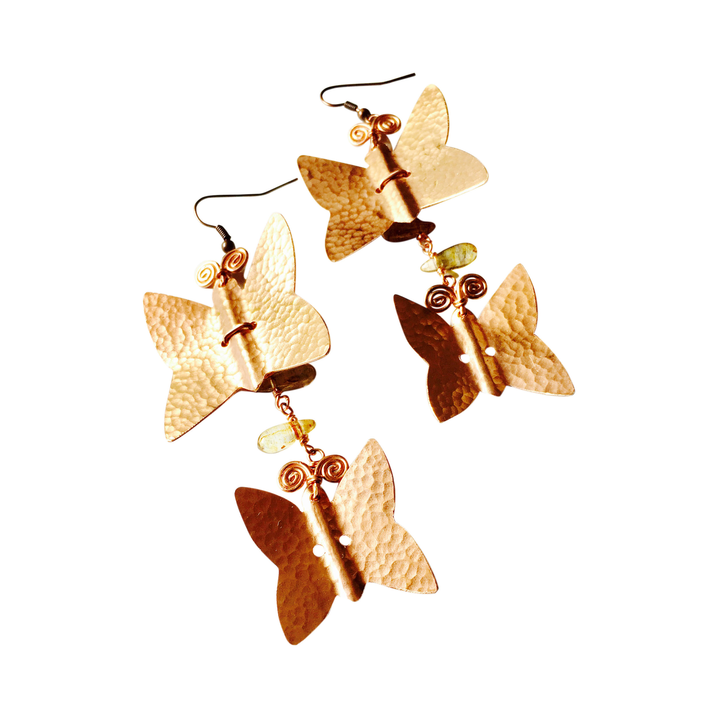 EARRINGS DW E2 COPPER