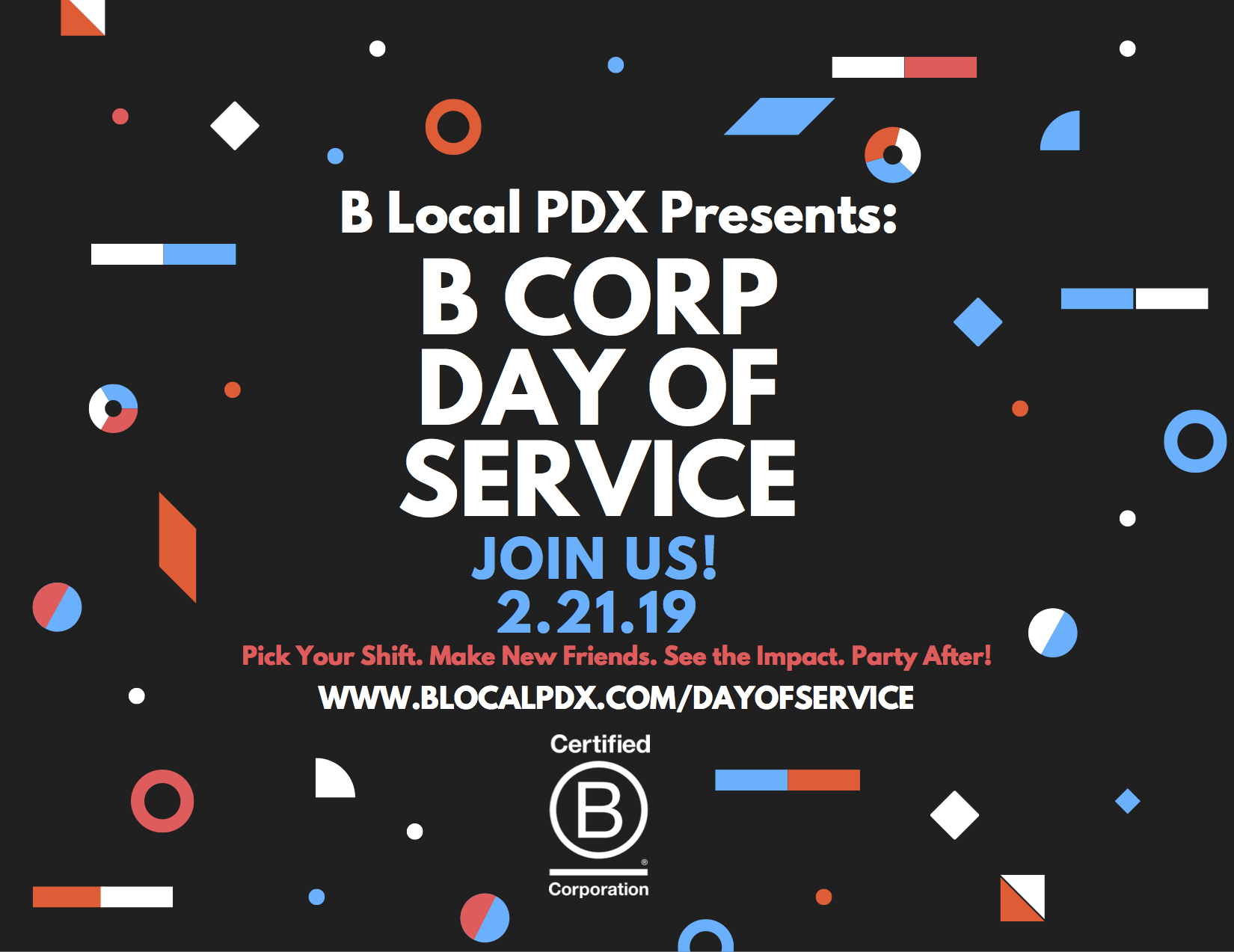 B Local PDX - B Corp Day of Service on February 21, 2019