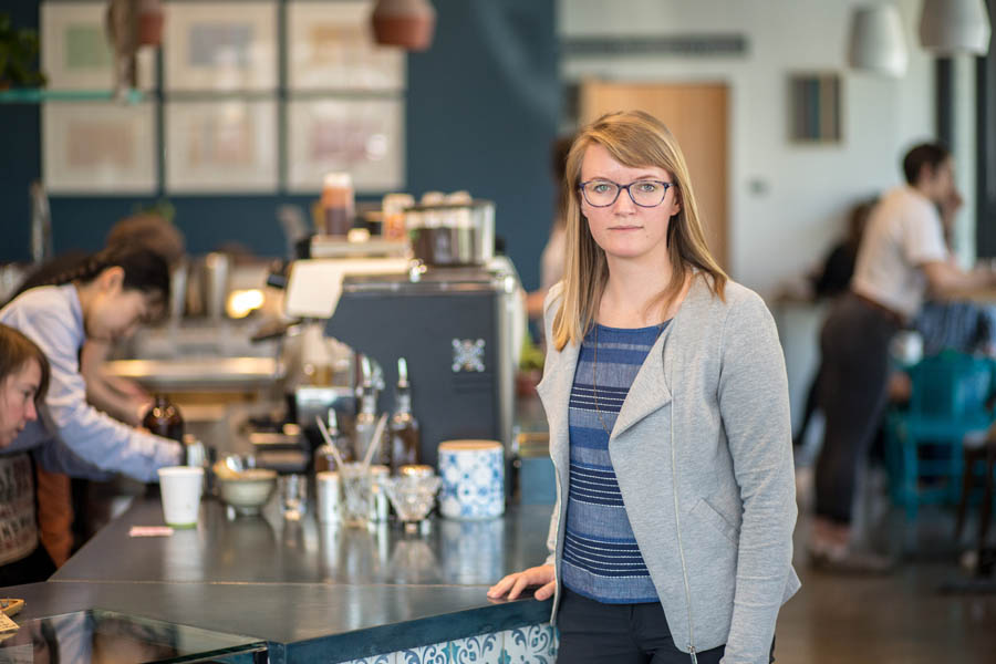 Karen Lickteig of Nossa Familia Coffee